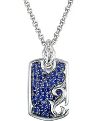 Stephen Webster - Silver 1.01 Ct. Tw. Sapphire Necklace - Lyst