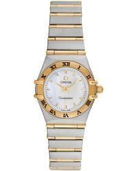 Omega Omega Women's Constellation Mini Watch, Circa 1990s - Metallic