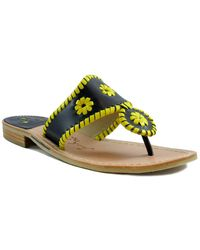 Jack Rogers Spirit Leather Sandal - Multicolour