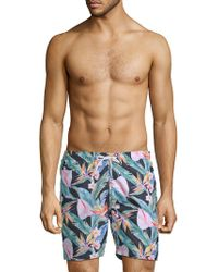 Trunks Surf & Swim - Maui Floral Swim Shorts - Lyst