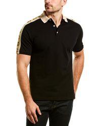Gucci Interlocking G Polo Shirt - Black
