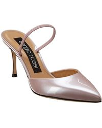 Sergio Rossi Godiva Leather Pump - Pink
