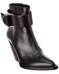 IRO Arez Leather Boot - Black