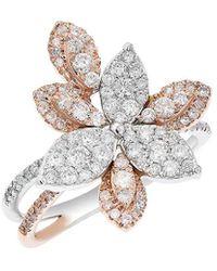Diana M. Jewels - . Fine Jewelry 14k Rose Gold 0.93 Ct. Tw. Diamond Ring - Lyst