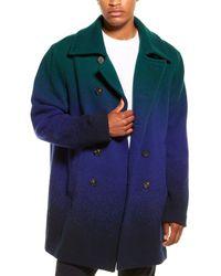 Missoni Wool Coat - Green