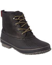 UGG Zetik Waterproof Leather Boot - Black