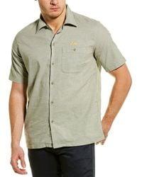 Deus Ex Machina Manila Woven Shirt - Green