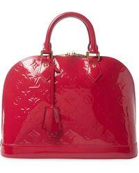 Louis Vuitton - Vintage Vernis Alma Pm Bag - Lyst