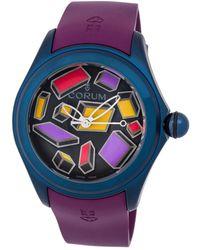 Corum - Men's Rubber Watch - Lyst