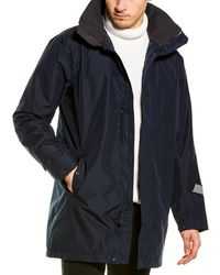 Helly Hansen Dubliner Insulated Long Jacket - Blue