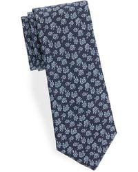 Saks Fifth Avenue - Floral Cotton Tie - Lyst