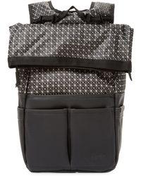 Focused Space - Geometric Rolltop Backpack - Lyst