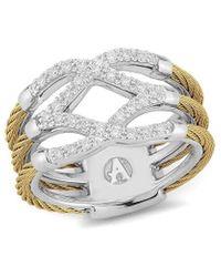 Alor Classique 18k 0.25 Ct. Tw. Diamond Ring - Metallic