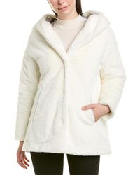 Herno Plush Coat - White