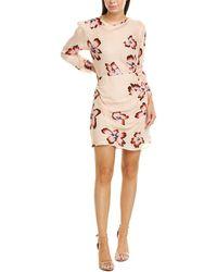 A.L.C. Grace Silk Mini Dress - Pink
