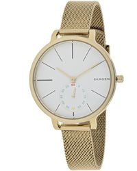 Skagen Denmark Women's Hagen Watch - Metallic