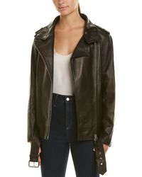 Mackage Leather Jacket - Black