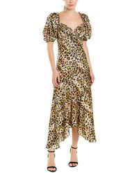 Ronny Kobo Miri Maxi Dress - Brown