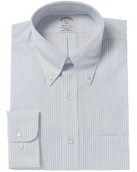 Brooks Brothers Regent Fit Dress Shirt - Blue