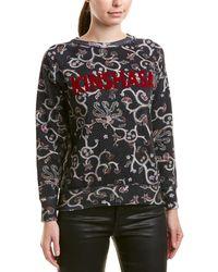 Isabel Marant Etoile Floral Sweatshirt - Black