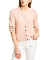 Line & Dot Haven Cardigan - Pink