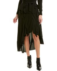IRO Breathed Wrap Skirt - Black