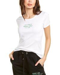 Helmut Lang Slim T-shirt - White