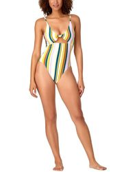 Anne Cole Knot Elongated One-piece - Multicolour