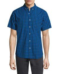 Life After Denim - Das Checkered Cotton Sportshirt - Lyst