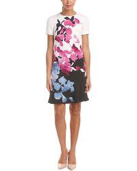 ESCADA Shift Dress - Multicolor
