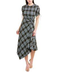 Jonathan Simkhai Asymmetrical Midi Dress - Green