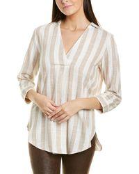 Insight Linen-blend Top - White