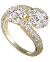 Van Cleef & Arpels Vintage - Van Cleef & Arpels 18k 2.50 Ct. Tw. Diamond Ring - Lyst