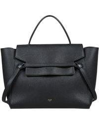 Céline Belt Black Leather Handbag