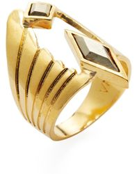 Vanessa Mooney - Hendrix Trend Ring - Lyst