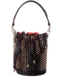 Christian Louboutin Marie Jane Leather Bucket Bag - Multicolor