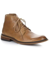 Fly London Washed Leather Boot - Brown