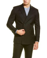 English Laundry 2pc Suit With Flat Front Pant - Multicolour
