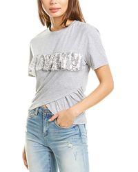 Pinko Setter 1 T-shirt - Gray