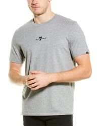 7 For All Mankind 7 For All Mankind Original T-shirt - Gray