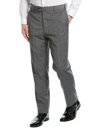 Brooks Brothers Wool-blend Suit Trouser - Gray