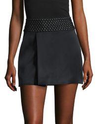 SemSem - Farah Silk Embellished A Line Skirt - Lyst