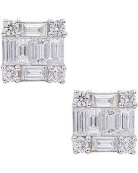 Diana M. Jewels . Fine Jewellery 14k 1.45 Ct. Tw. Diamond Studs - Metallic