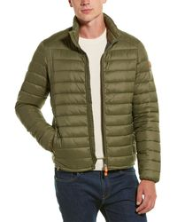 Save The Duck Basic Coat - Green