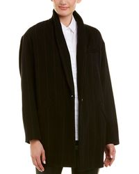 IRO Delson Wool-blend Coat - Black