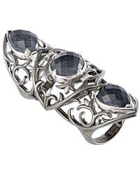 Stephen Webster - Silver & Rhodium 13.50 Ct. Tw. Gemstone Ring - Lyst