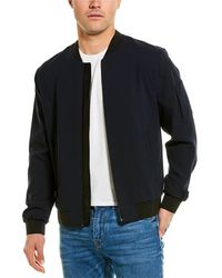 Vince Knit Bomber Jacket - Black