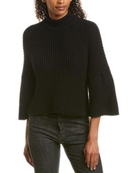 Autumn Cashmere Cotton By Jumper - Black