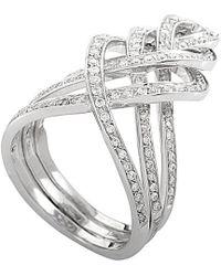 Damiani - 18k 0.67 Ct. Tw. Diamond Ring - Lyst