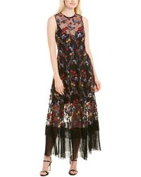 Dress the Population Gina Gown - Black